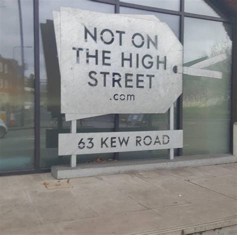 NOT ON THE HIGH STREET PITCH UP 2017