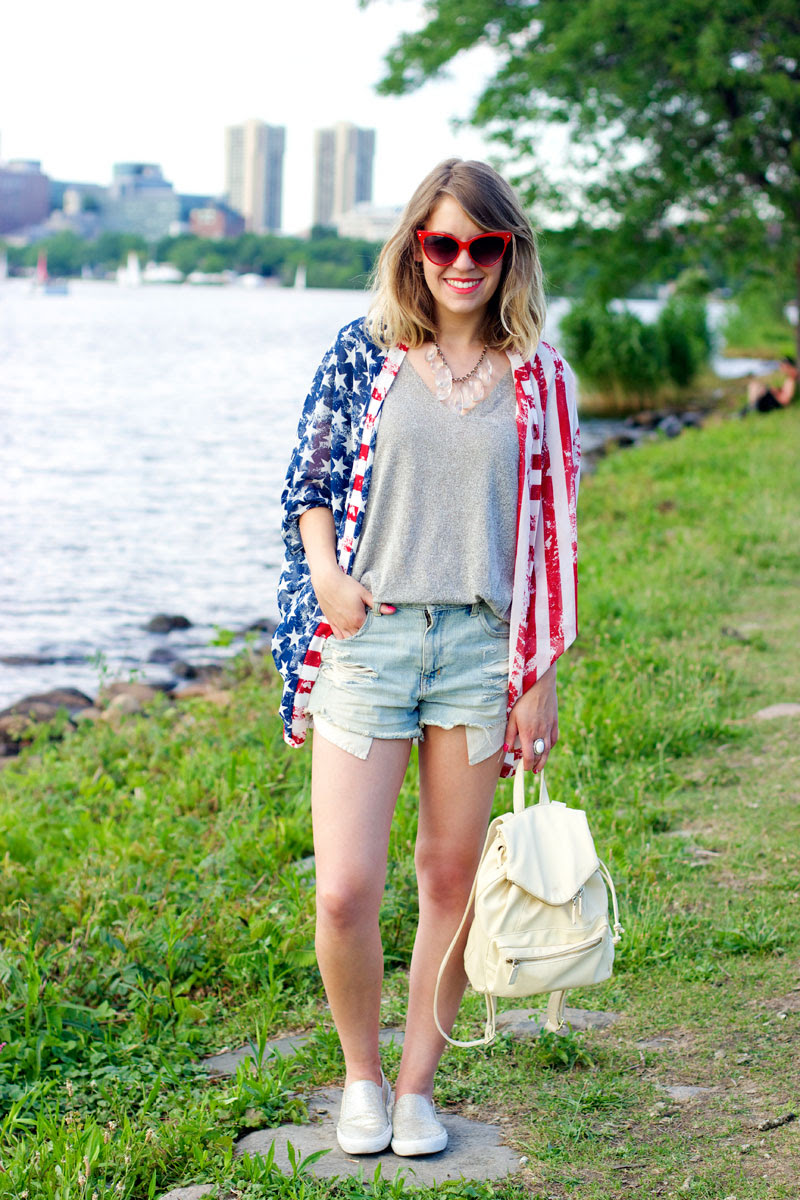 ways to wear 4th of july outfit  style tab