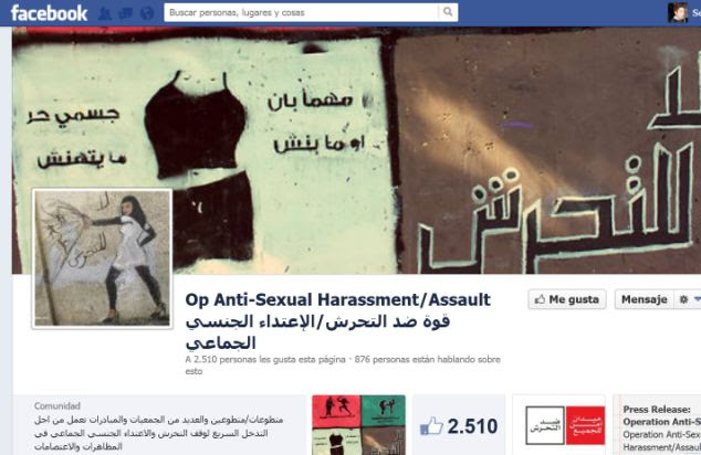 Operation Anti-Sexual Harassment/Assault's Facebook page