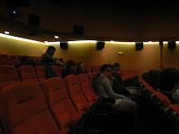 ... i al final ens vam acomodar dins del cinema