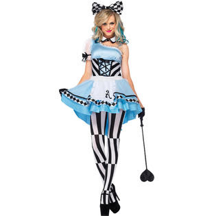 Women's Psychedelic Alice Costume