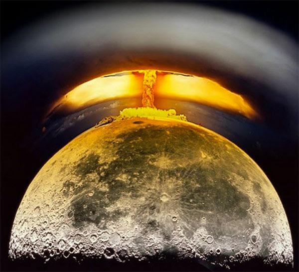 Detonação nuclear lunar
