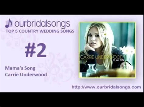 Top 5 Country Wedding Songs   YouTube