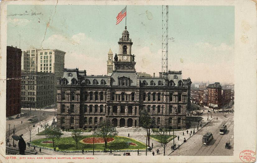 Detroit City Hall Wikipedia