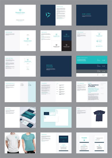goodview brand guidelines blablabla pinterest manual