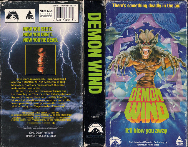 Demon Wind (VHS Box Art)