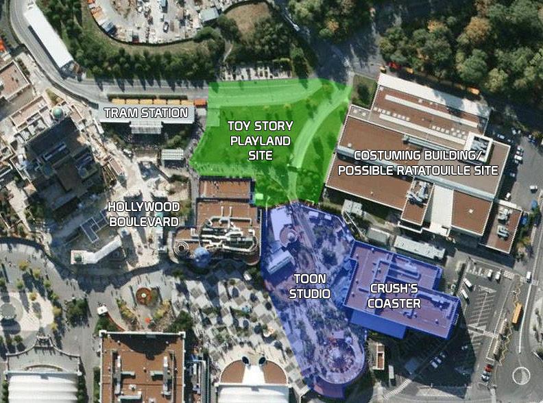 Car One Stop Closer: Disneyland California Map 2009