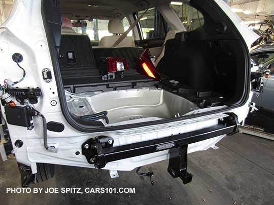 Installing Trailer Hitch On Subaru Outback