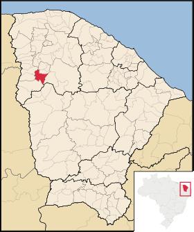 Localização de Ipu