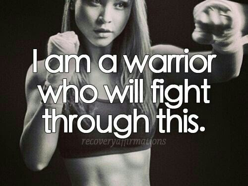 I Am A Warrior Quote Quote Number 617339 Picture Quotes