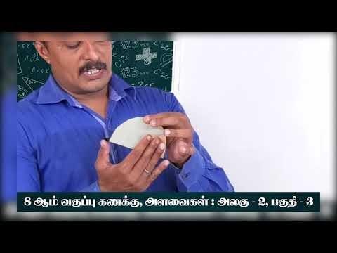 8th Maths அளவைகள் கூட்டு வடிவங்களின் பரப்பளவு சுற்றளவு அலகு 2பகுதி 3 Kalvi TV