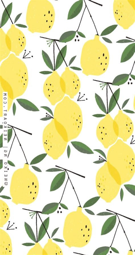 cute lemon wallpaper iphone     iphone wallpaper