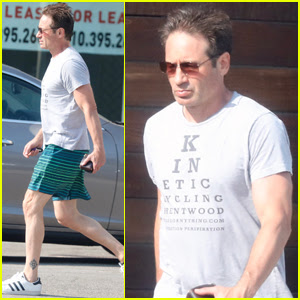 David Duchovny Steps Out Amid 'X-Files' Writers Controversy