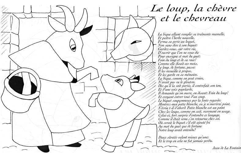 Le Loup Et Les Sept Chevreaux