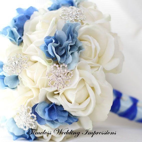Silk Wedding Flowers In Maryland : Wedding flowers snowflakes