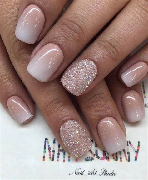 70 Top Bridal Nails Art Designs for next year   Nail Art