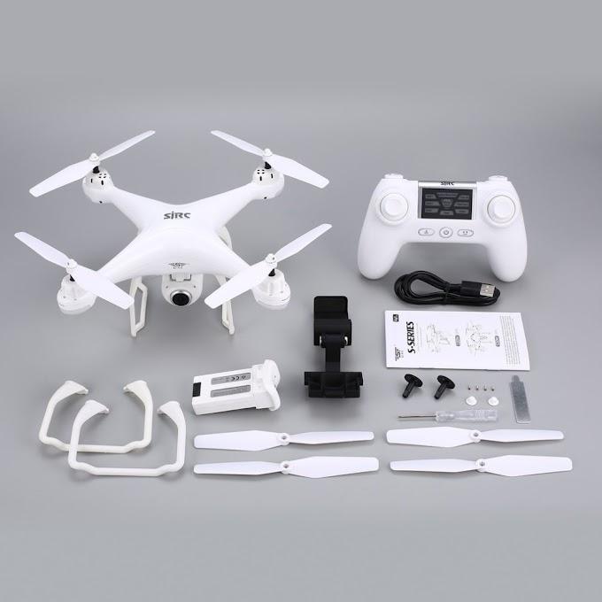 SJ R/C S20W FPV 720P 1080P Camera Selfie Altitude Hold Drone Headless Mode Auto Return Takeoff/Landing Hover GPS RC Quadcopter