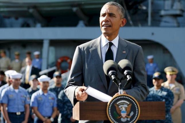 Hình ảnh TQ ngang nhiên yêu cầu Obama tránh xa vấn đề Biển Đông số 1