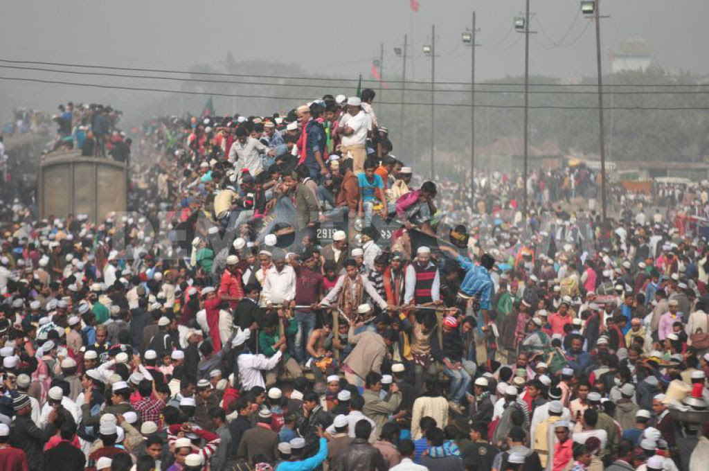 Todos a bordo para Bangladesh - Biswa Ijtema 2014 07
