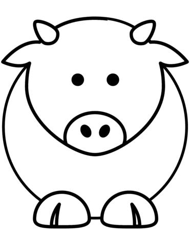 Top 50 Coloriage Vache A Imprimer Coloriage A Imprimer