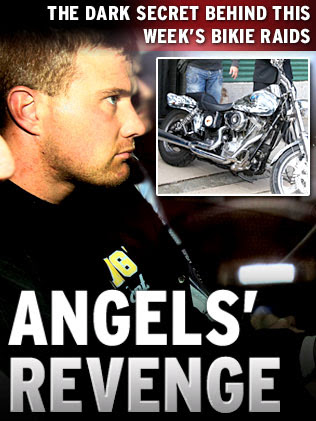 punished by law of outlaws. THE Hells Angels showed killer Chris Hudson what