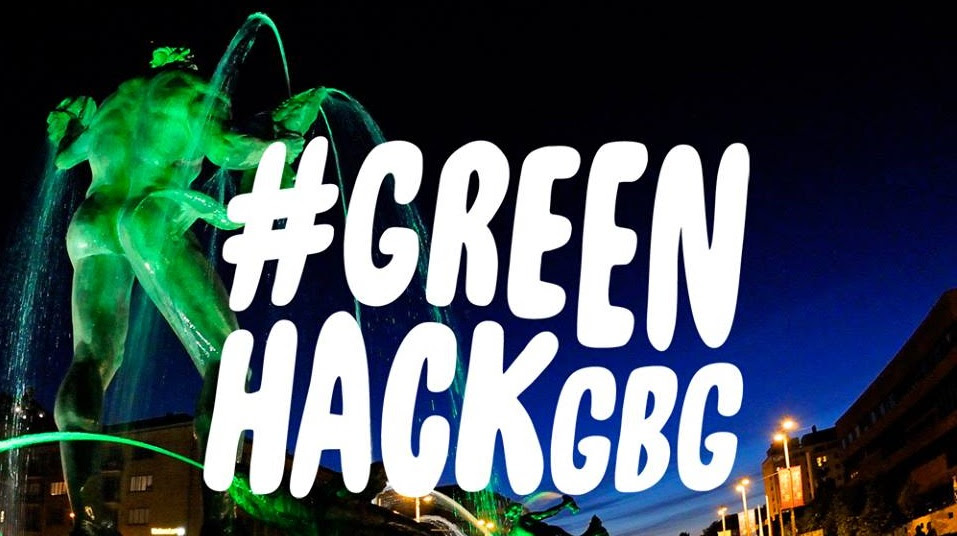 #GREENHACKGBG