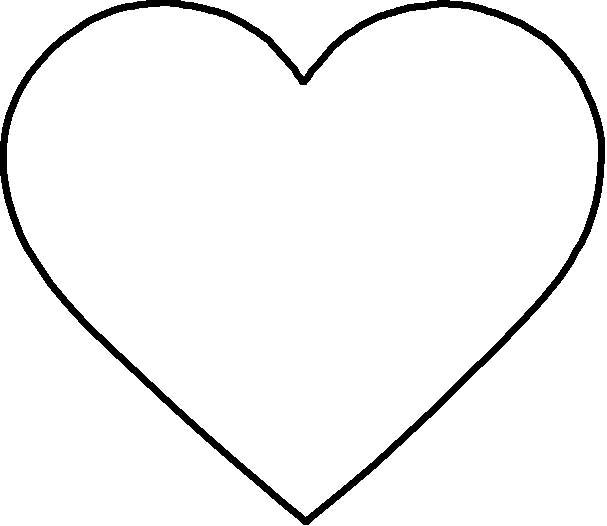 Printable Heart Shapes - ClipArt Best