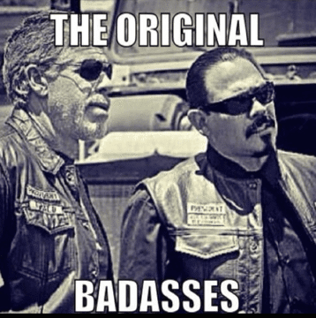 Emilio Rivera and Ron Perlman