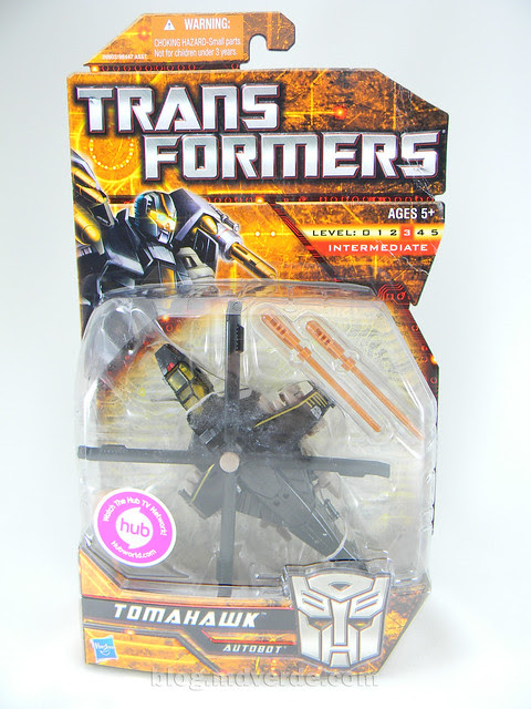 Transformers Tomahawk Hunt for the Decepticons Deluxe - caja