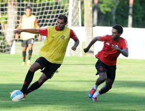 Luiz Antonio volante Flamengo (Foto: Alexandre Vidal/Fla Imagem)