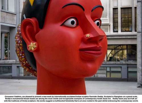 Grosvenor Vadehra, are pleased to present a new work by internationally acclaimed Indian sculptor Ravinder Reddy by artimageslibrary
