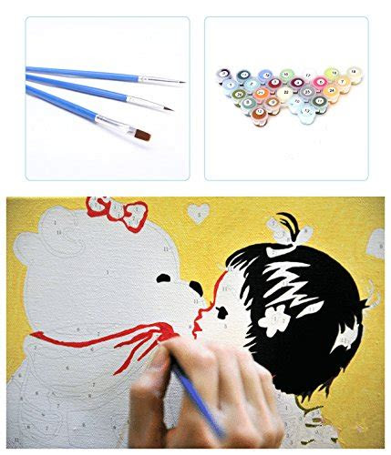 diy painting  numbers  adults childrens paint