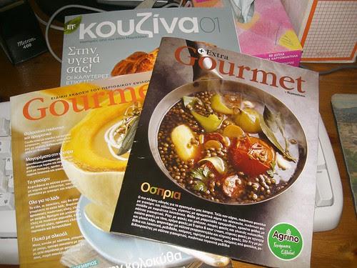 gourmet magazines