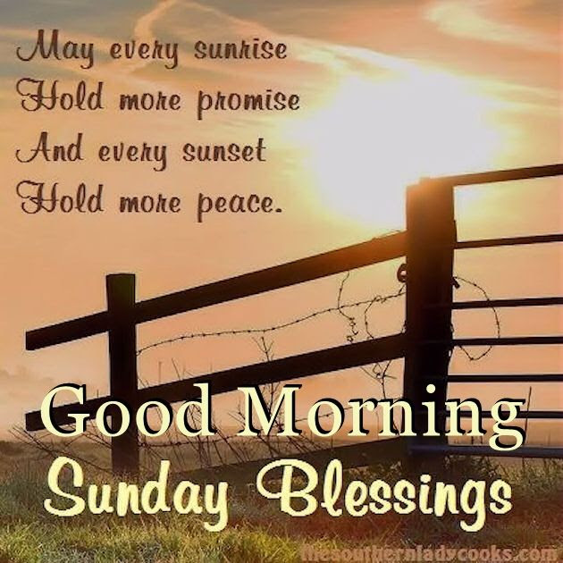 Good Morning Sunday Blessings Quote Pictures Photos And Images For