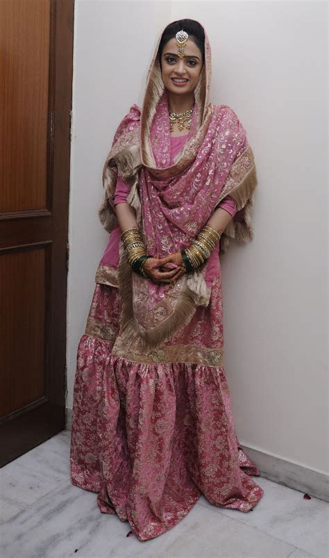 Gharara    revival of gorgeous old world charm and Lucknow
