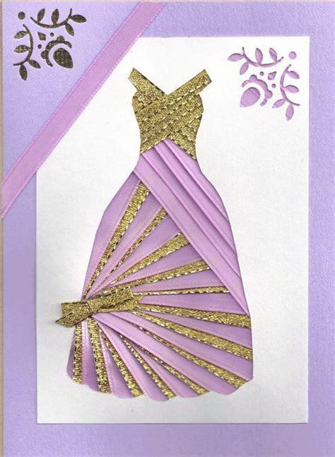 17 Best ideas about Dress Card on Pinterest   Cards diy