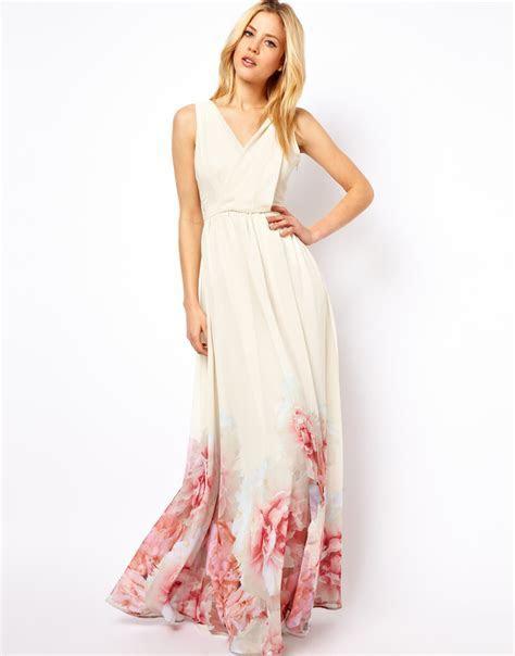 MANGO HEM BEGONIA MAXI DRESS US 6 watercolor rose flower