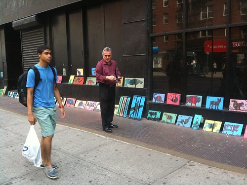 TO's paintings, 23rd St.
