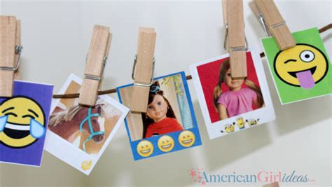 diy american girl doll emoji bedroom american girl ideas