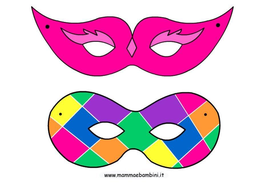 Bomboniere uncinetto battesimo immagini maschere for Immagini maschere carnevale da colorare