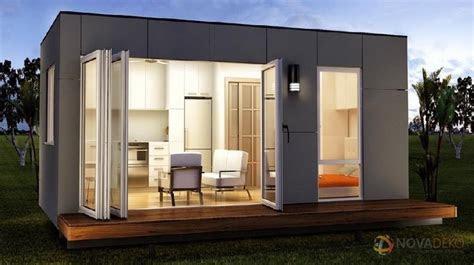 novadeko modular  sq ft modern tiny home