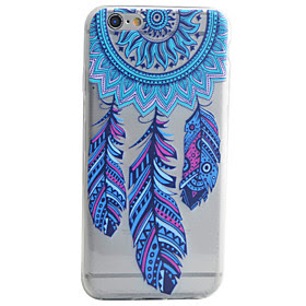 For Etui iPhone 7 / Etui iPhone 7 Plus / Etui iPhone 6 Monster Etui Bakdeksel Etui Drommefanger Myk TPU AppleiPhone 7 Plus / iPhone 7 /