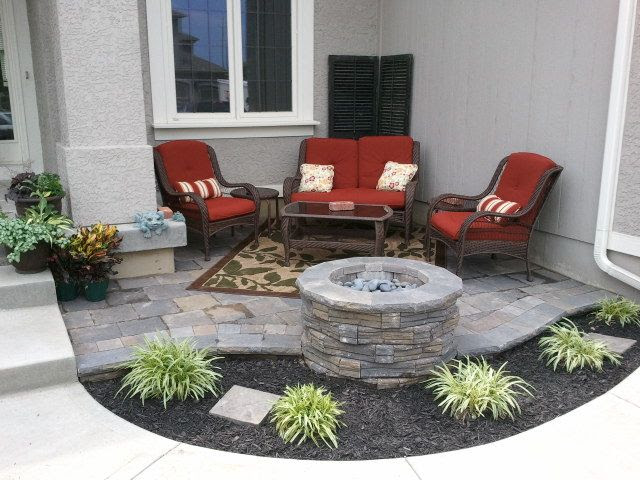 Front Patio with gas firepit - after,  Go To www.likegossip.com to get more Gossip News!