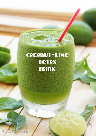 Coconut Lime Detox Drink
