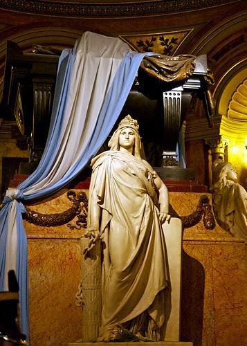 General José de San Martíns Tomb