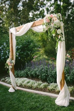 17 Best ideas about Rustic Wedding Arches on Pinterest