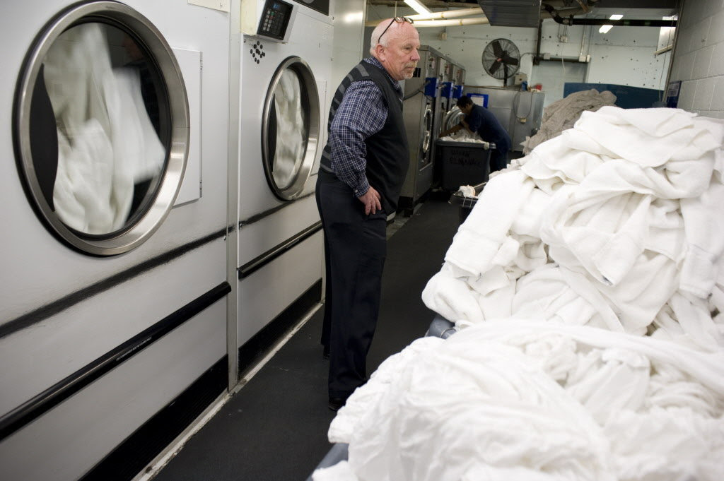Image result for dirty hotel laundry