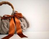 SALE OFF 20%, Knitted Handbag - Beige Bag Nr-0110 - NzLbags