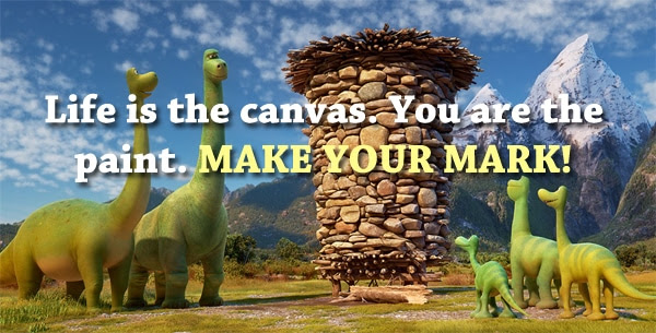 Make Your Mark Quote
