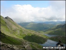 A glaciated valley in Snowdonia (Martin Siegert)